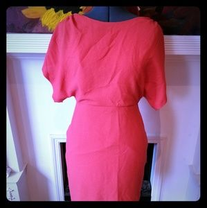 Kay Unger Coral Dress, size 6